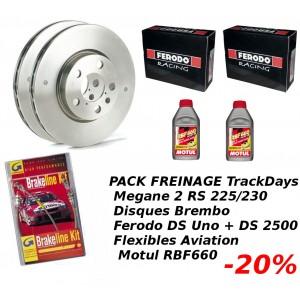 Pack Freinage TrackDays Megane 2 RS